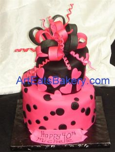 Mad hatter (topsy turvy) birthday cake pictures - Art Eats Bakery Greenville - Spartanburg's SC Premier Cake Boutique