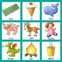 børns sprog: Glade børn, der hopper sig til læring