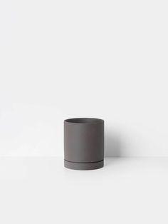 Sekki Pot - Charcoal - Medium