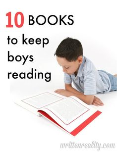 Need books for boys that will keep them reading? Check out these 10 chapter books for boys that our filled with adventure and fun.