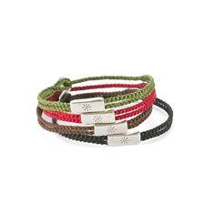 Bracciale BY-E711-B0 mix  | OTTIMISMO | www.aibijoux.com | #Babyloniagioielli #handmadesilver #finesilverjewelry #AIBIJOUX #menjewelry Handmade Silver Jewellery, Silver Jewelry, Crafty, Bracelets, Leather, Diy, Bags, Handbags, Bricolage