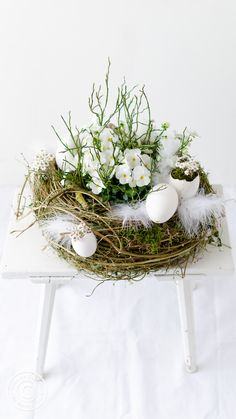 Deco Table, Event Decor, Diy And Crafts, Easter, Bird, Table Decorations, Spring, Archive, Home Decor