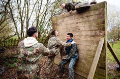 Assault course stag parties with The Stag Company