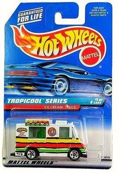 MOC 1998 Tropicool Series #1 Ice Cream Truck Rasta Fruits and Veggies #693