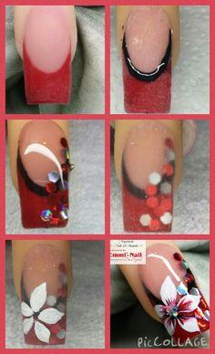 Tutorial nail art by Emmi-nail