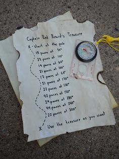 Cub Scout Treasure Hunt