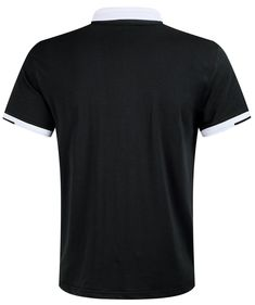 57e87b34e2bb7 Musen Men Short Sleeve Polo Shirt Cotton Regular Fit TShirts Black M      Check out this great product. Note  It s an affiliate link to Amazon   menshirts