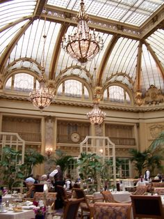 """The Palace Hotel in San Francisco, where we took my Grandma """"B"""" for Tea on her 80th Birthday <3"""