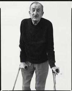 Richard Avedon. Alexey Brodovitch, Graphic Designer, Le Thor, France. February 9, 1970