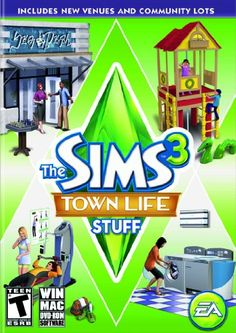 The Sims 3: Town Life Stuff - Pc/Mac, 2015 Amazon Top Rated Games #VideoGames