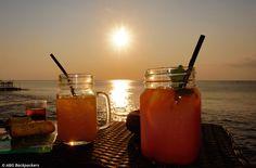 Sunset at Rock Bar Jimbaran