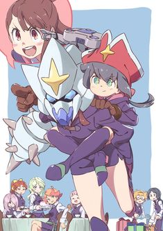 Little Witch Academia Image - Zerochan Anime Image Board Little Wich Academia, My Little Witch Academia, Overwatch, Good Cartoons, Anime Titles, Ecchi, Awesome Anime, Anime Art, Manga Anime