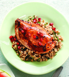 lime pomegranate chicken breasts
