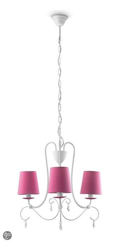 bol.com   Philips Mykidsroom Princess Kroonluchter - 3-Lichts - Roze   Wonen