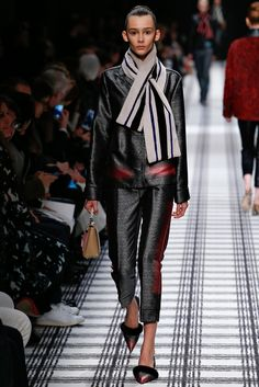 Balenciaga Fall 2015 Ready-to-Wear Fashion Show - Aamito Stacie Lagum