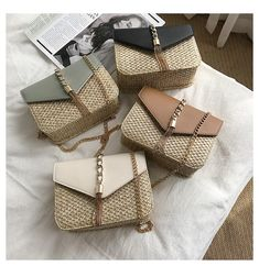 Fringed Chain Small Flap Bags For Women 2019 Fashion Straw Crossbody Bags Ladies Summer Messenger Shoulder Handbags – fashion Source by fashionhobbies Bags 2019 Fashion Handbags, Fashion Bags, Woven Beach Bags, Shoulder Handbags, Shoulder Bag, Boho, Straw Bag, Purses And Bags, Boutique Shop