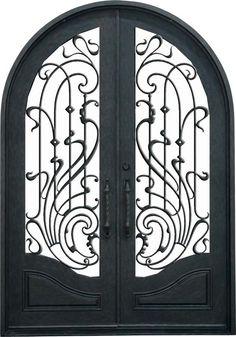 part of a wrought iron fence iron pinterest schmiede plotten und metall. Black Bedroom Furniture Sets. Home Design Ideas