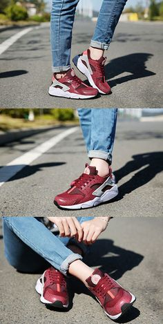 Nike Air Huarache Womens Red