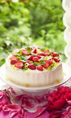 Mascarpone Cake, Delicious Desserts, Yummy Food, Party Cakes, No Bake Cake, Summer Recipes, Sweet Recipes, Food To Make, Cake Decorating