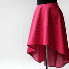 Jak ušít půlkolovou sukni (video návod + tipy pro konstrukci) – Prošikulky.cz Diy Fashion, Womens Fashion, Ballet Skirt, Sewing, Skirts, Clothes, Outfits, Tutu, Couture