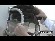 Lifetime Grabcessories Grab Bar Towel Shelf (Model 61025) - YouTube