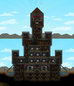 The pink palace my terraria home much of it inspired by this made some uppgrades based on suggestions imgur malvernweather Gallery