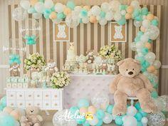 New Ideas For Baby Shower Boy Theme Aqua Birthday Parties Baby Shower Cakes, Deco Baby Shower, Baby Shower Balloons, Baby Shower Favors, Baby Boy Shower, Baby Shower Invitations, Baby Shower Gifts, Baby Shower Themes Neutral, Boy Decor