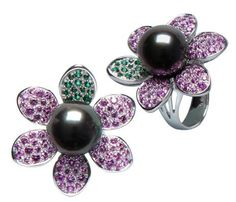 Jewelmer South Sea pearl ring, I want one in every color