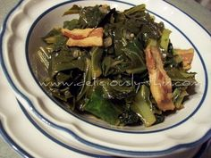 Real Southern style turnip greens