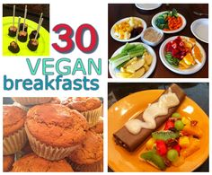 30 VEGAN breakfast ideas