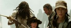 S5 E1 - No Sanctuary.  Rick waiting for Carl and Michonne to make their final escape from  Terminus