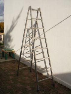 échelle alu 8 barreaux hauteur du 8 eme barreau 2.17m; Location particulier échelle alu 2,20m à  Lormont (33310) _ www.placedelaloc.com