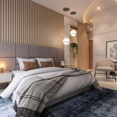Home Decor Bedroom, Home Living Room, Japanese Bedroom, Couple Room, Bedroom Design Inspiration, Headboard Designs, Modern Architecture House, Suites, Luxurious Bedrooms