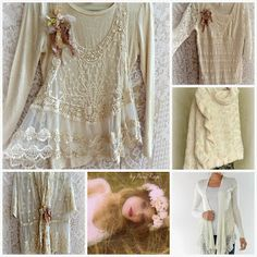 PARIS Rags. Amazingly romantic clothing with a DIY flair