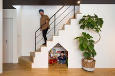 Kid Spaces, Small Spaces, Small Corner, Compact Living, Interior Decorating, Interior Design, Cozy Room, Under Stairs, Wooden House