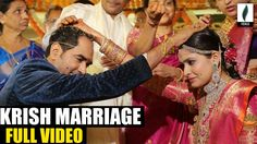 Director Krish And Ramya Marriage Ceremony Full Video || Vensu Filmnagar