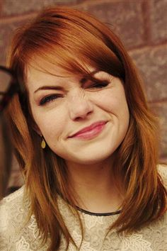 Dear Emma Stone - thank you for reminding us that beauty has more to do with what you have than just being pretty.