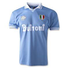 Napoli 1986 Retro Home Soccer Jersey