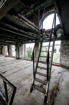 Papierfabriek De Naeyer: vervallen constructies  Op een terrein in Willebroek vind je enkele verlaten panden terug. Daar kan je als fotograaf je uitleven. In deze oude papierfabriek krijg je een mooie combinatie tussen natuur en constructies.  Op het terrein staan 3 panden waar je binnen kan fotograferen. Een oude langwerpige fabriekshal, een gebouw met verschillende verdiepen en een pand met enkele gaten in de vloer. Goed opletten waar je stapt dus.