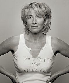 Emma Thompson. One of my heros.