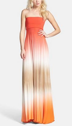 dip-dyed maxi @Nordstrom