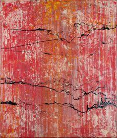 Sunset 1.26, 50 x 60 cm, Acryl & Lack, 2012