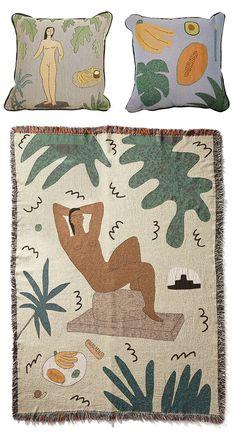 home decor designed by artist lilian martinez / sfgirlbybay