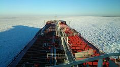 Ice cold gulf of Finland