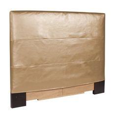 Howard Elliott K122-880 Shimmer Gold Twin Slipcovered Headboard - http://www.furniturendecor.com/howard-elliott-k122-880-shimmer-gold-twin-slipcovered-headboard/