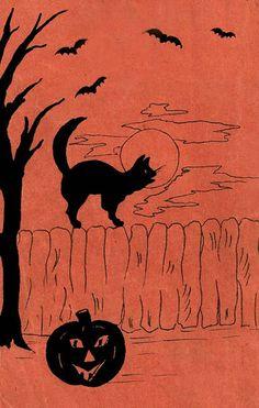 Great link to a bunch of vintage Free Halloween Clip Art WoooHoo!