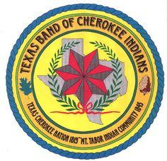 Seal of the Texas Cherokee Indian Cherokee Symbols, Cherokee History, Native American Cherokee, Cherokee Nation, Native American History, Native American Indians, Cherokee Indians, Native Americans, Choctaw Indian