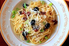 Špagety so sušenými paradajkami