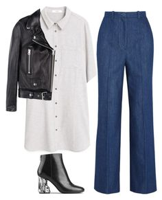 """""""#784"""" by anna-od ❤ liked on Polyvore featuring MANGO, Topshop Unique and Acne Studios"""