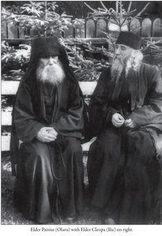 Elders Cleopa & Paisius of Sihastria Monastery, Romania Miséricorde Divine, Byzantine Icons, Orthodox Christianity, Orthodox Icons, Christian Faith, Priest, Catholic, Saints, Romania